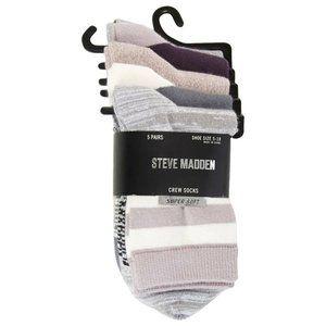 Steve Madden Crew Socks
